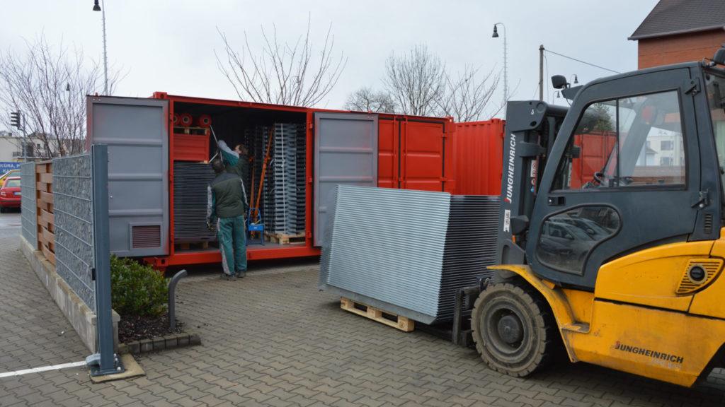 Ukládaní FLOMu do kontejneru
